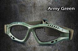 Очки Military Practical Design Grey Lens тактический страйк болл air soft