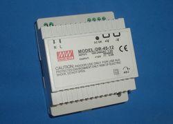 DR-45-12 источник питания на DIN-рейку, 12В, 42Вт, 3. 5A блок питания Mean W