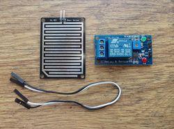 Реле 5V DC контроллер с датчиком влажности, аквастоп