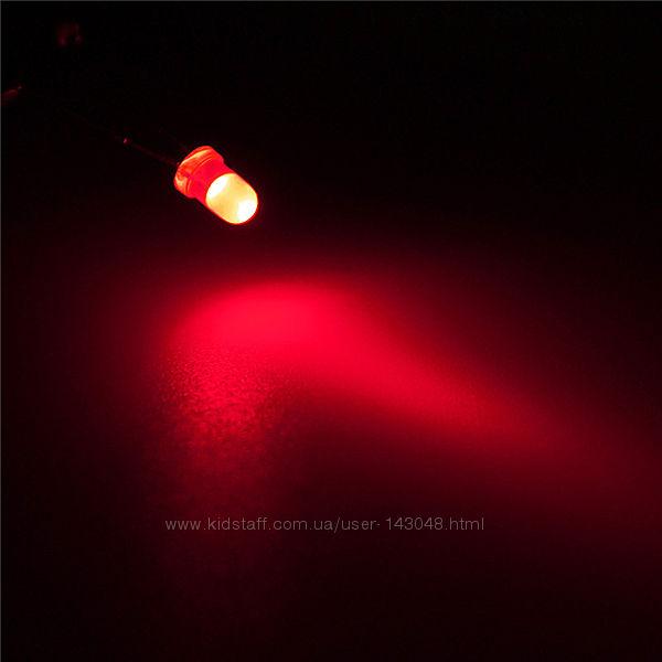 3мм красный LED светодиод 20mA