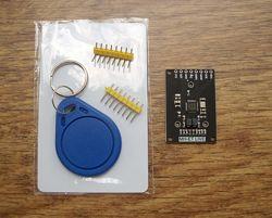 Mini RFID RC522 модуль  карта  брелок для Arduino. MIFARE S50, MIFARE S70,