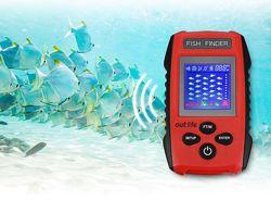 Эхолот для рыбалки, поиск рыбы Depth Fish Finder, проводной рыбопоисковый