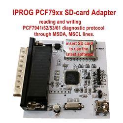 Iprog adapter PCF79xx  SD for PCF7941525361 адаптер для обнуления брелк