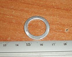 Переходник с 16 на 22 мм 16-22-1, 5 мм посадочное место под отрезные диски