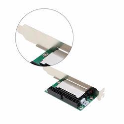 Адаптер 3.5´´ IDE 40 pin папа - CF метал. PCI планка крепления