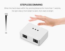 Беспроводный датчик движения для света светодиодный переключатель цвет БЕЛ