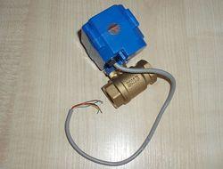 Аквастоп защита от протечек CWX-15N DC12V DN15 CR05 шаровый кран запорный э