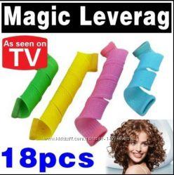 Magic Leverage бигуди 18 шт - отличный подарок