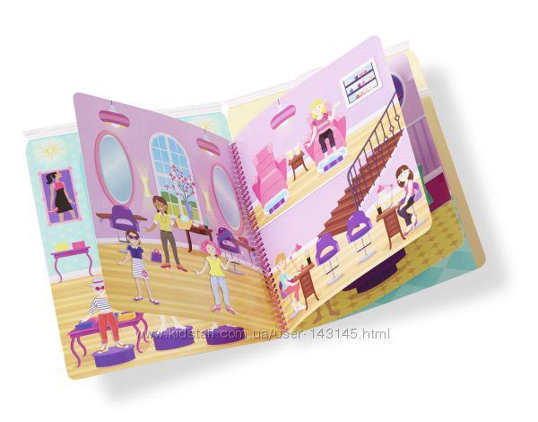Объемные многоразовые наклейки Melissa & Doug Дом моды