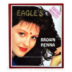 Хна Eagles Каштан Индийская для бровей, волос.