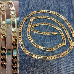Мужская цепочка 18k Cartier Gold Filled 36 грамм
