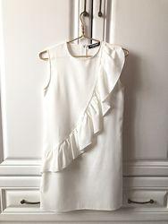Платье белое р. м