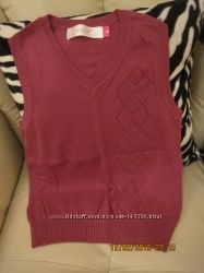 Туника, жилет, свитер на девочку  9-10 лет