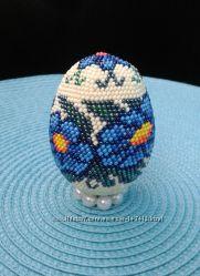 Пасхальное яйцо ручной работы Ромашки