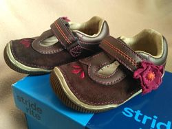 Кожаные туфли stride rite б/у в отличном состоянии 21 р. , стелька 12,5 см