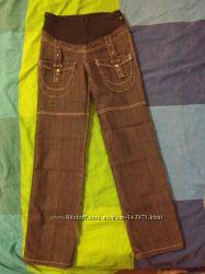 Продам джинсы с бандажом и бандаж для беременных