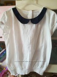 блуза хб белая