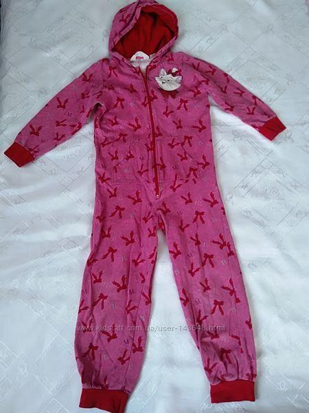 Продам кигуруми, пижамы H&M флис, трикотаж 2-3 года. 7-8лет