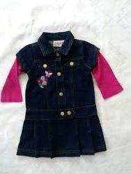 Продам джинсовое платье Carter&acutes 1,5годика
