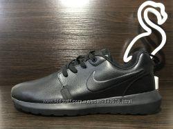 Nike Roshe Run кожаные со скидкой