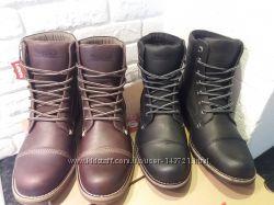 Ботинки кожа  Levis Lex II Оригинал размер 42