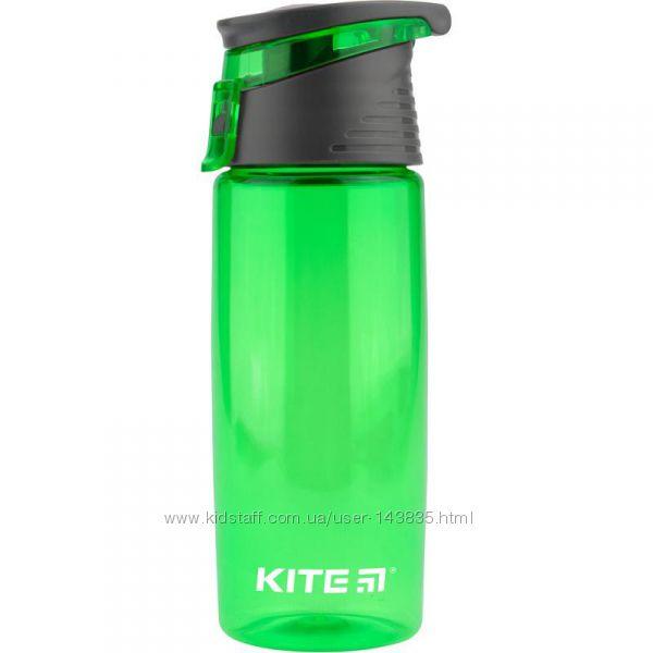 Пластиковые качественные бутылки для воды Kite 530, 550, 560, 750 мл
