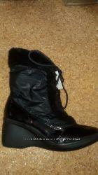 зимние ботинки по низкой цене, длина стельки 23, 24 и 25 см