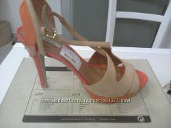 Geox новые босоножки, р. 39, стелька 25, 5 см, высота каблука 12 см, платфо
