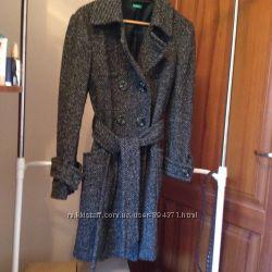 BENETTON   шерстяное пальто р 46