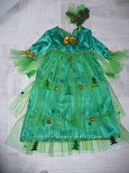 Авторский карнавальный костюм Елочка