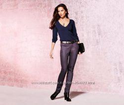 Эффектные джинсы slim-fit с отливом от Tchibo р. 36, 40, 42, 44, 46 европ.