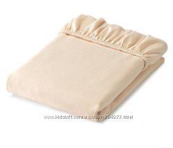 Фланелевая простынь  на резинке от Tchibo р. 90 на 200