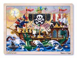 Melissa&Doug Деревянный пазл Пираты
