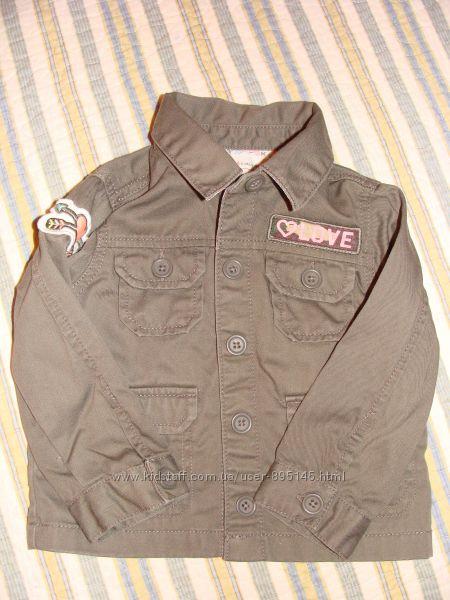 Детская курточка-ветровка от Carters 18 мес.