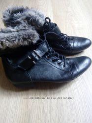 Ботинки почти новые 39р.