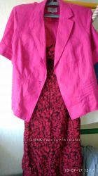 Сарафан, пиджак,  комплект.