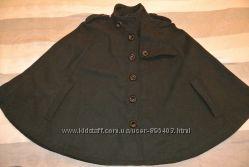 Пальто полу-пальто кашемировое 50 шерсть Chic 36 размер S