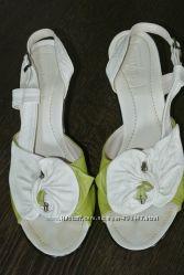 Босоножки кожаные 40 - 41 размер 26, 5 см