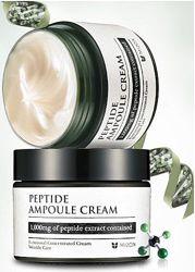 Омолаживающий пептидный крем Mizon Peptide Ampoule Cream