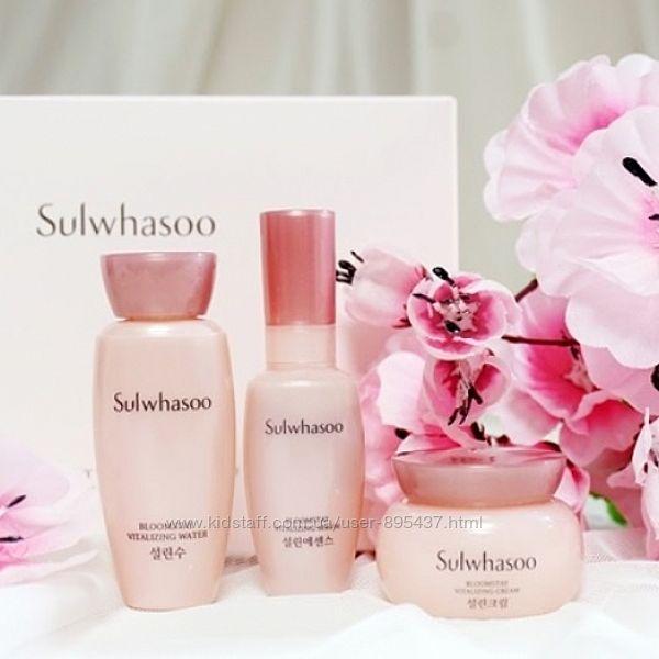 Ферментированый мини-набор Sulwhasoo Bloomstay Vitalizing Kit 3 items