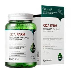 Ампульная сыворотка с центеллой азиатской Farm Stay Cica Farm Recovery