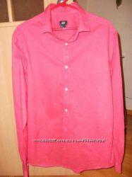 Брендовая мужская рубашка H&M.