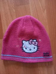 Шапка George Hello Kitty девочке 5-8 лет.