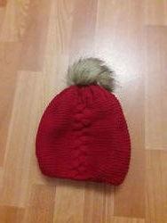 Зимняя шапка Granz девочке 6-8 лет