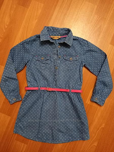 Джинсовое платье, туника Cool Club 116 см