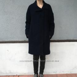 Пальто темно-синее 38 размер