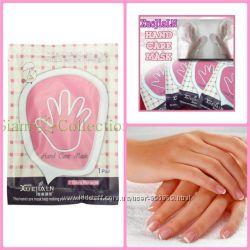 Отбеливающая маска-перчатки для рук Hand Care Mask