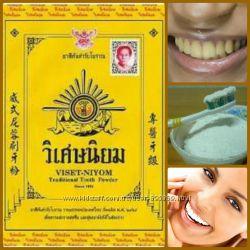 Тайский зубной порошок viset-niyom