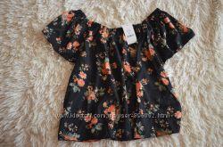 Блуза кофта топ с открытыми плечами