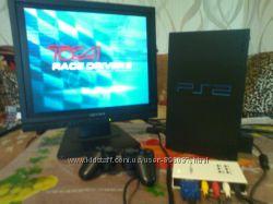 Игровая приставка Sony PlayStation 2 SCPH-35003 с монитором